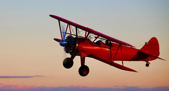 Stearman Bi-plane, Shafter, CA