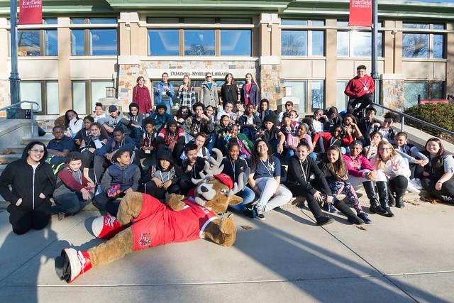 Cesar Batalla School Students Visit Fairfield