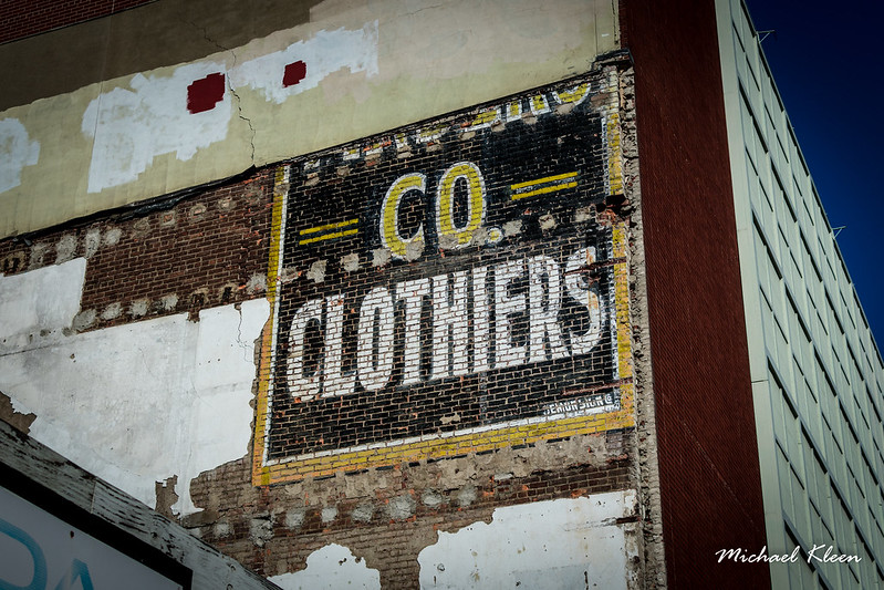 Clothiers Ghost Sign