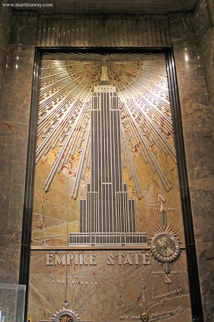 L'ingresso dell'Empire State Building
