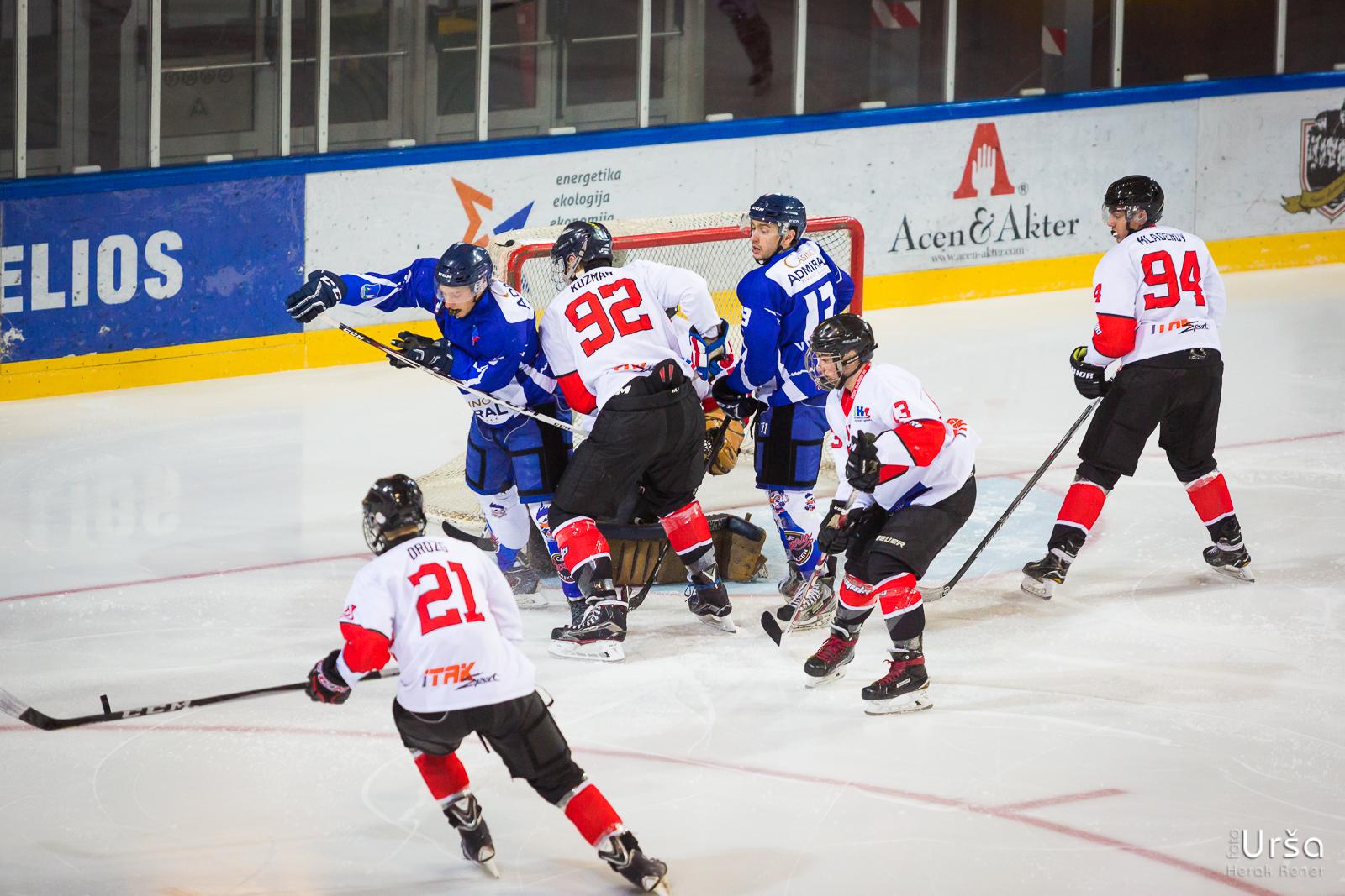 Tekma IHL člani HKMK Bled vs. HDK Maribor