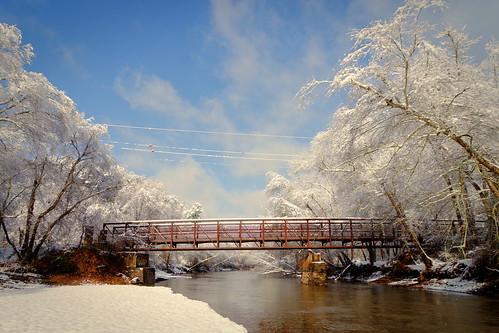 Little River Bridge Side Again   by ChristianRock