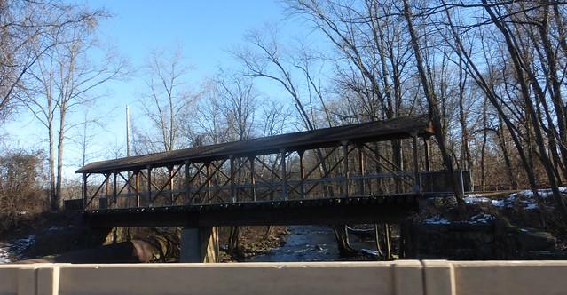 Mount Hope Mineral Railroad (CRRNJ) Bridge over Rockaway River, Wharton, NJ