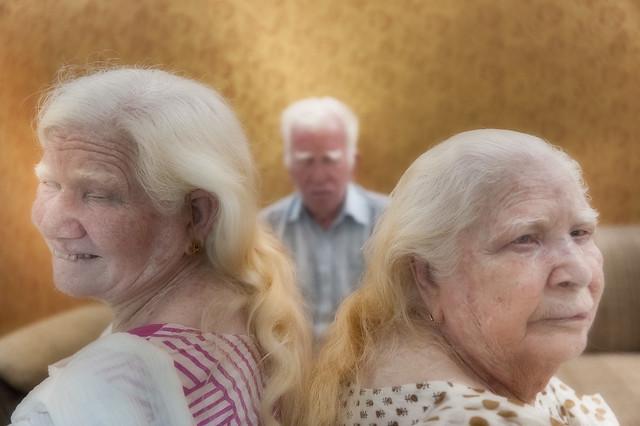 Three albino brother and sisters, Delhi