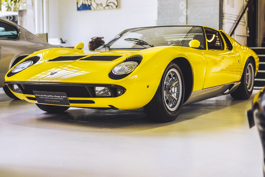 1968 Lamborghini Miura P400 The Marcello Gandini Designed Flickr