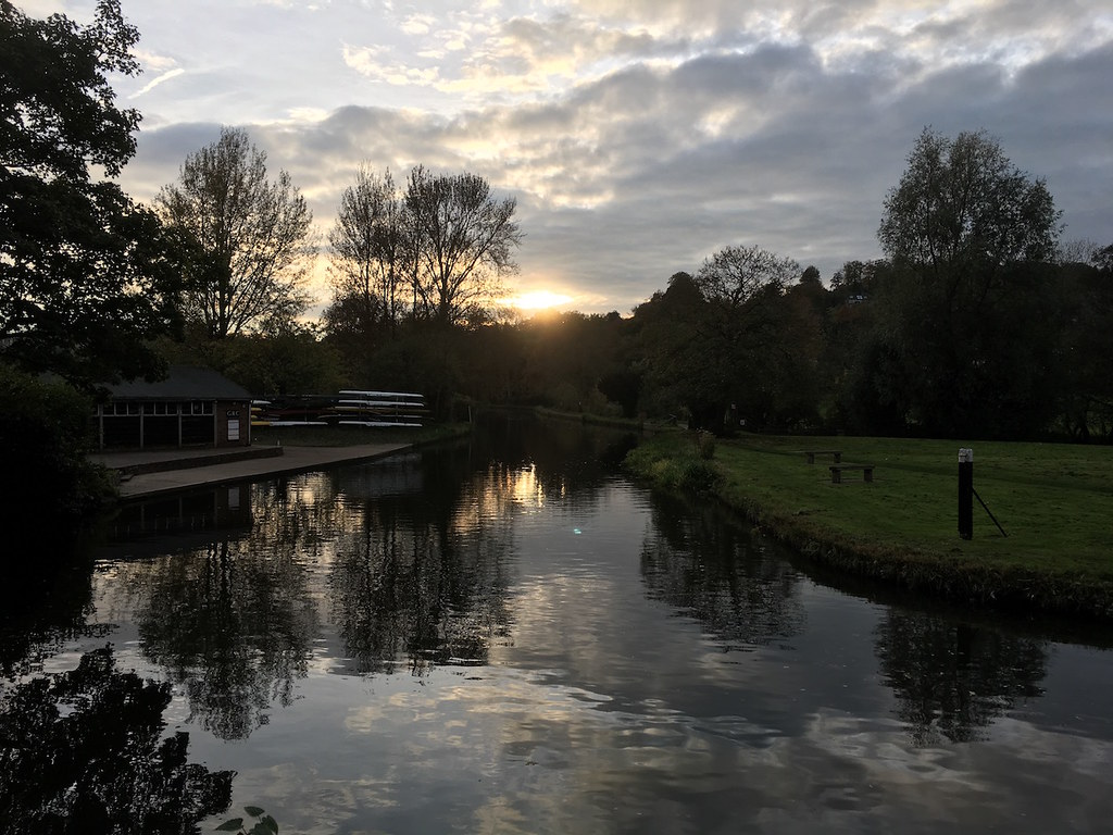 Wey sunset