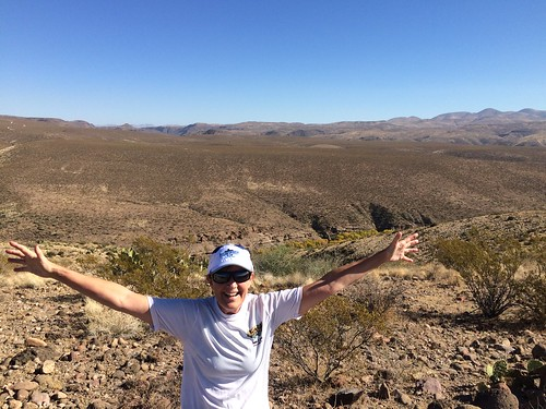 Gila Box Riverview Campground Linda on our run | by Pierre Yeremian