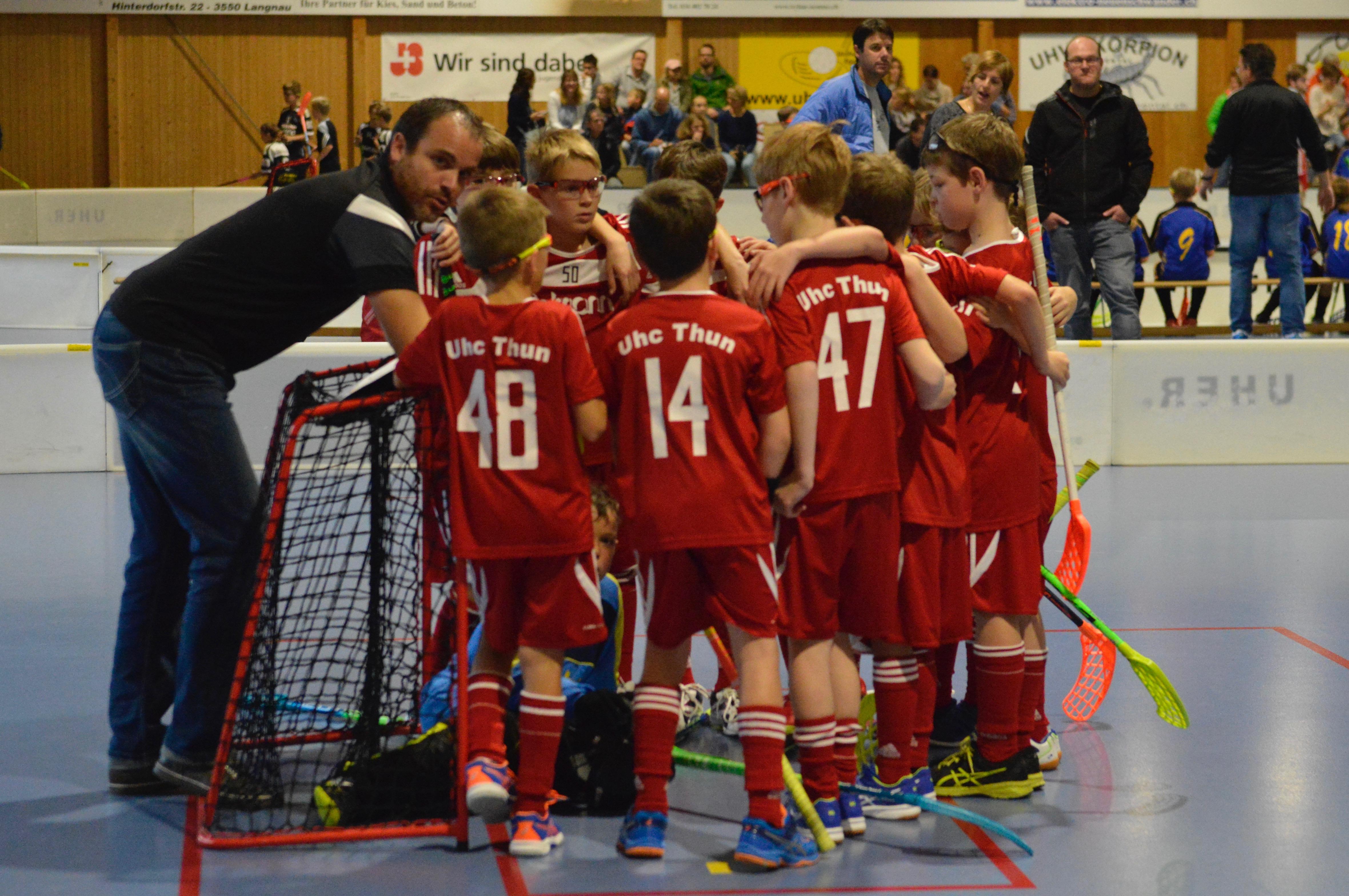 Junioren EI - UHC Thun II Saison 2017/18