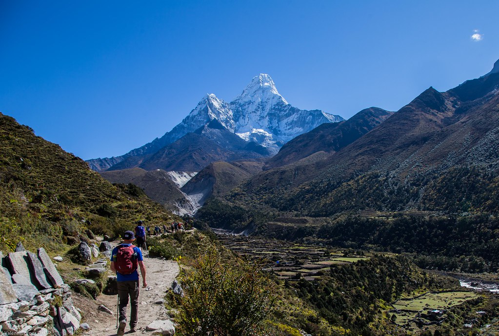 EBC_from Deboche to Dingboche 10_Ama Dablam