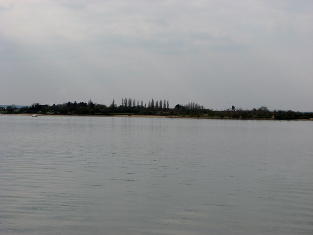 Osea Island from Stansgate Abbey Farm