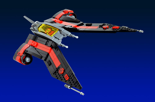Aurek-Wing Fighter | by Oky - Space Ranger