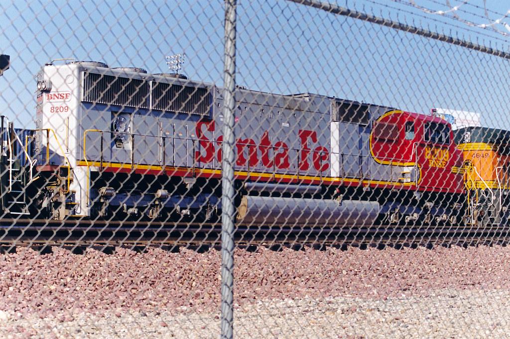 BNSF SD75M No  8209 At Hobart Yard | emd | Flickr