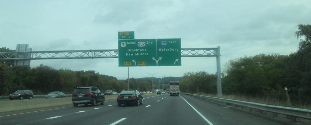 I-84 Exit 7 | Near Danbury, CT  October 2016