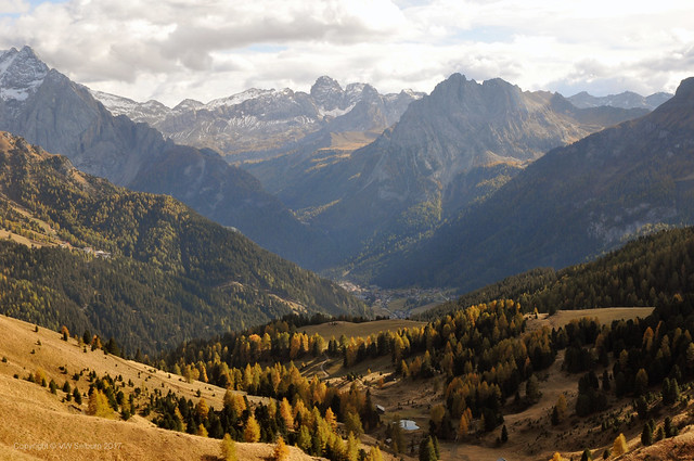 Down the valley from Sela Pass
