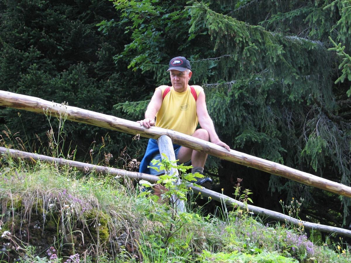Course en montagne 2007