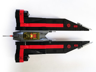 Aurek-Wing Fighter flight mode top | by Oky - Space Ranger