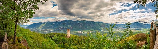 Südtirol Panorama bei Bozen