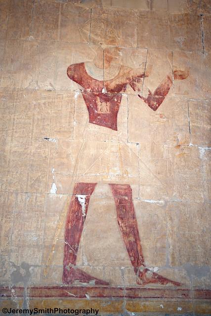 Temple of Hatshepsut, Luxor, Egypt, April