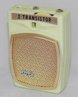 Vintage Angel Transistor Boy's Radio, No Model Number, AM