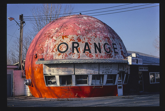Orange Julep, Route 9, Plattsburgh, New York (LOC)