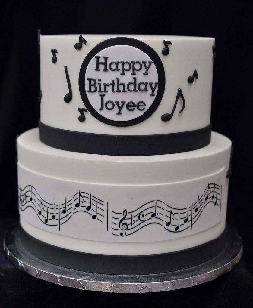 Pleasing Musical Birthday Cake Jenny Wenny Flickr Funny Birthday Cards Online Fluifree Goldxyz