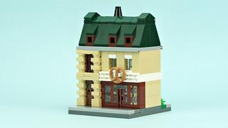 Mini bakery building   by de-marco