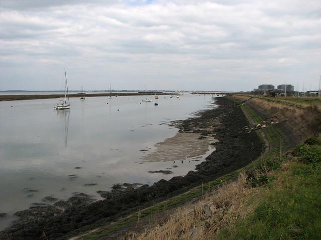 The coast at Bradwell Waterside