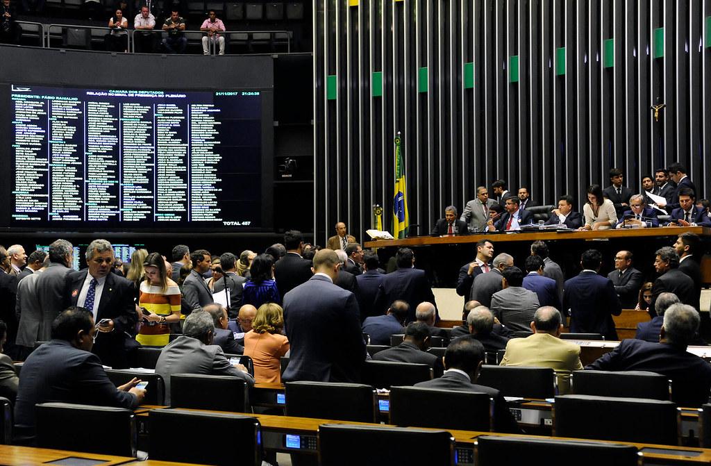 Câmara dos Deputados lança ferramenta web voltada à análise de discursos, Câmara dos Deputados - plenário