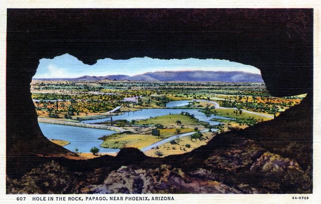 6A-H709 Hole in the Rock near Phoenix Arizona