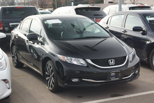 2015 Honda Civic CVT RX-L Photo