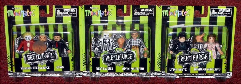 Beetlejuice Movie Minimates TRU Toys R Us Wave 1 Beetlejuice /& Adam Maitland