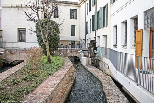 Il mulino di Piazza Pola, Treviso cosa vedere