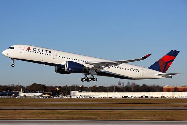 N505DN - Airbus A350-941 - Delta - KATL - Dec 2017