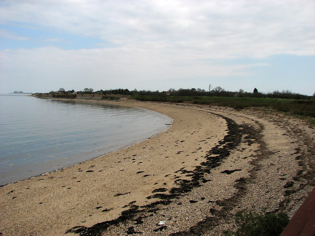The Blackwater Estuary west of Ramsey Island