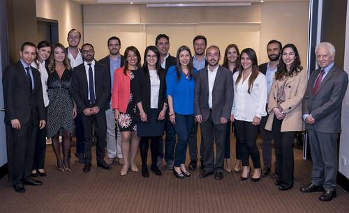 Acto Entrega Diplomas Universidad de Tulane MBA Global 2017 Bogotá