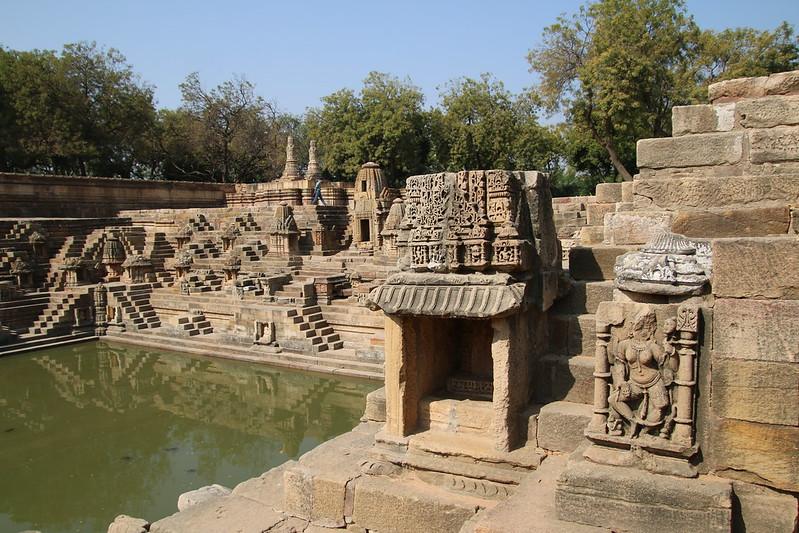 Visit to the Sun Temple near Modhera, Gujarat, India (November 23, 2017)