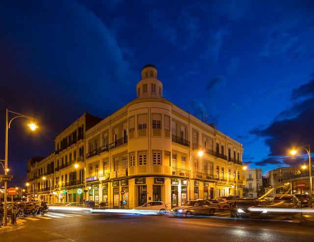 Edificios en Melilla (EXPLORE)