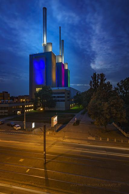 Heizkraftwerk in Hannover Linden - Die warmen Brüder