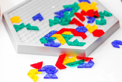 Colorful Game Board on a White Background | by wuestenigel