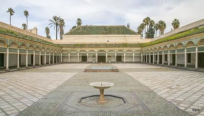 Bahia Palace Marrakech Morocco 1