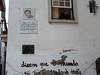 Coimbra – dům, v němž žil skladatel a zpěvák Zeca Afonso, foto: Petr Nejedlý
