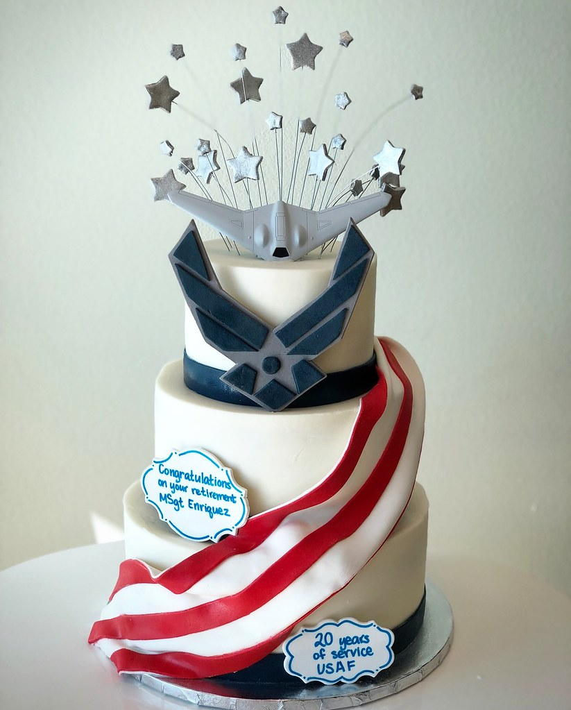 Air force retirement cake | Brian Haskell | Flickr