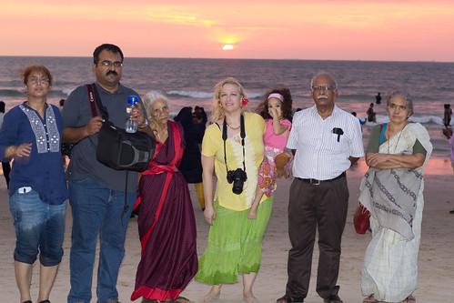 beach india2017 sunset mangalore karnataka india ind