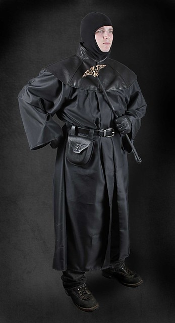 Plague doctor costume without mask