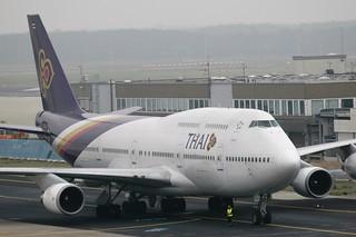Thai Airways International 747-400 HS-TGJ