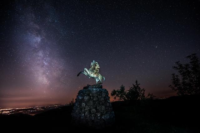 Statue de Jeanne d'arc au Ballon d'Alsace