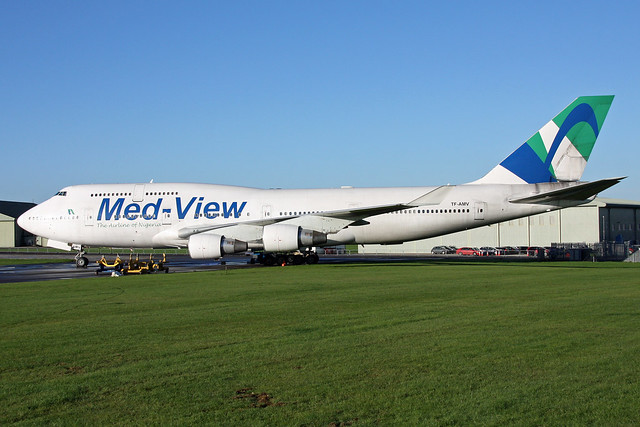 Med-View Airlines B747-400