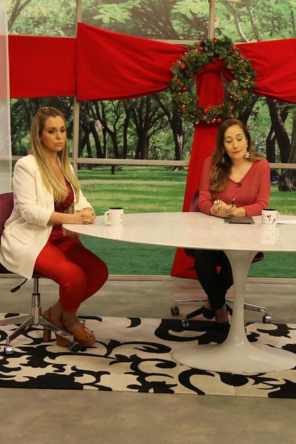 Renata Banhara e Sonia Abraão