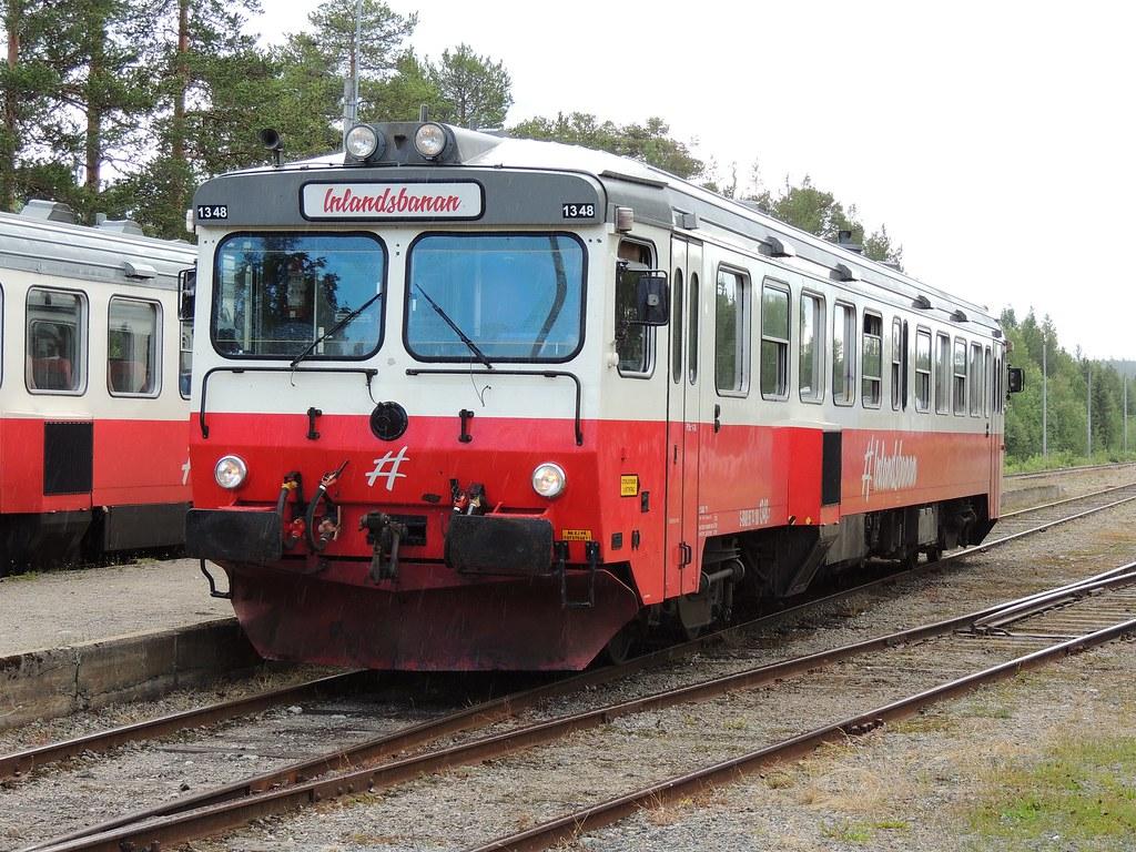 Mora to Sorsele - one way to travel via train, bus, car, and plane