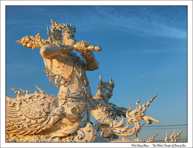 Wat Rong Khun - The White Temple of Chiang Rai 19